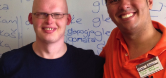 Richard Simcott – A polyglot from Chester and a life-long language learner speaking Portuguese